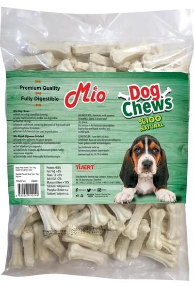 Mio Beyaz Press Köpek Çiğneme Kemik 5 Cm 10 Gr 100'Lü