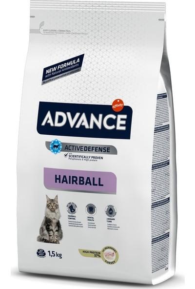 Advance Hairball Tavuk ve Pirinçli Tüy Yumağı Kontrolü Kedi Maması 1,5 Kg
