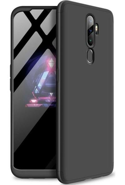 Coverzone Xiaomi Mi A3 3 Parça 360 Soft Kılıf Siyah