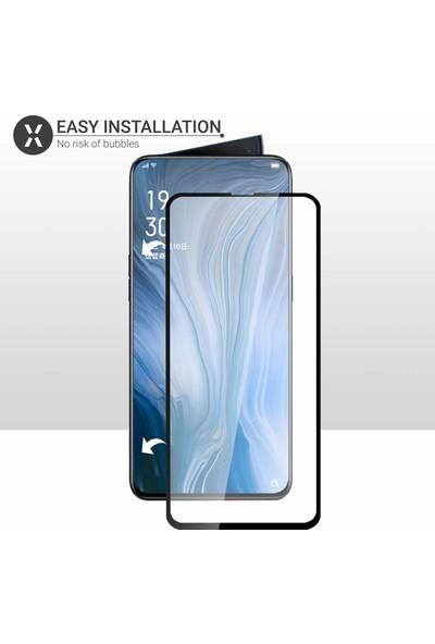 Case 4U Oppo Reno 2 Fiber Nano Cam Ekran Koruyucu Film Siyah
