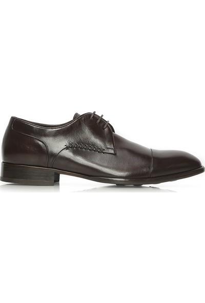 İlvi Blaks Erkek Klasik Ayakkabı Kahve Deri