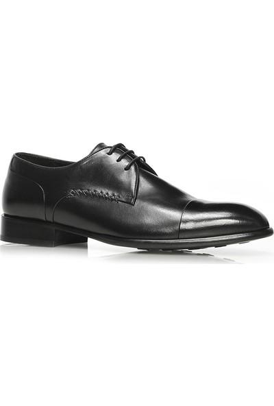İlvi Blaks Erkek Klasik Ayakkabı Siyah Deri