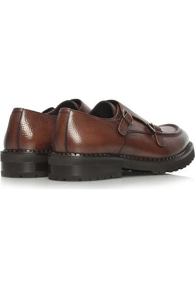 İlvi Heroy Erkek Klasik Ayakkabı Taba Floter