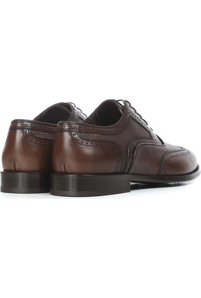 İlvi Kory Erkek Klasik Ayakkabı Kahve Alkollü