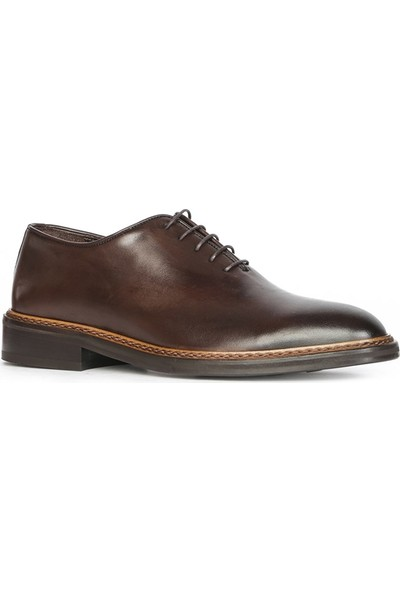 İlvi Nars Erkek Klasik Ayakkabı Kahve Alkollü