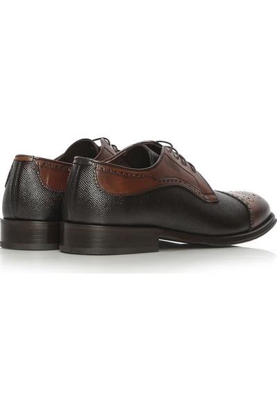 İlvi Ones Erkek Klasik Ayakkabı Kahve Alkollü