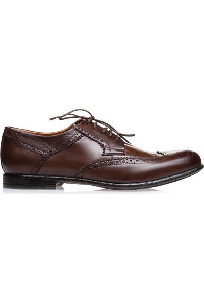 İlvi Torvald Erkek Klasik Ayakkabı Kahve Scotch