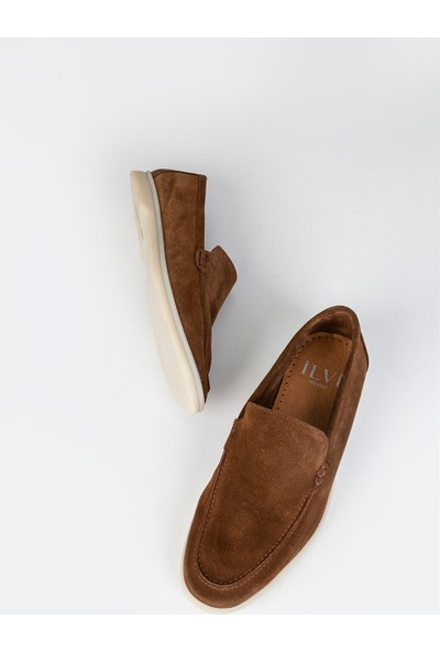İlvi Connor Erkek Makosen Ayakkabı Taba