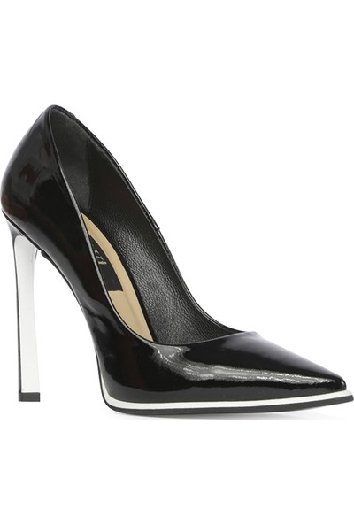 İlvi Kerry Kadın Stiletto Siyah Rugan
