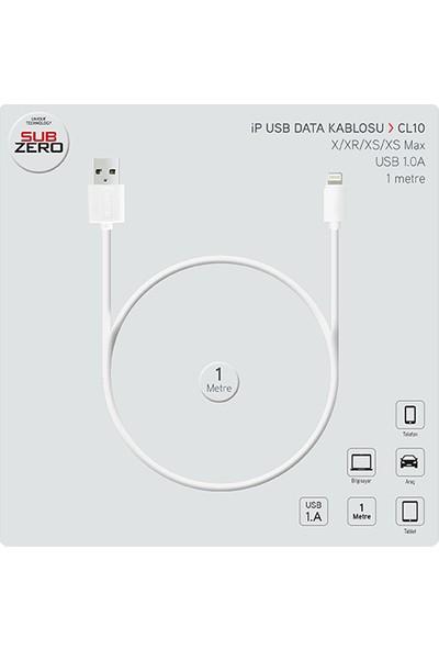 Subzero Apple iPhone Lightning Data Kablo Cl-10 - Beyaz