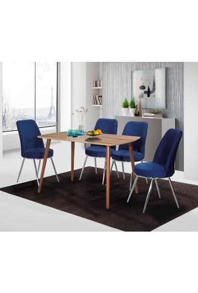 Kaykolsan Masa Sandalye Takımı 1 Masa 4 Sandalye