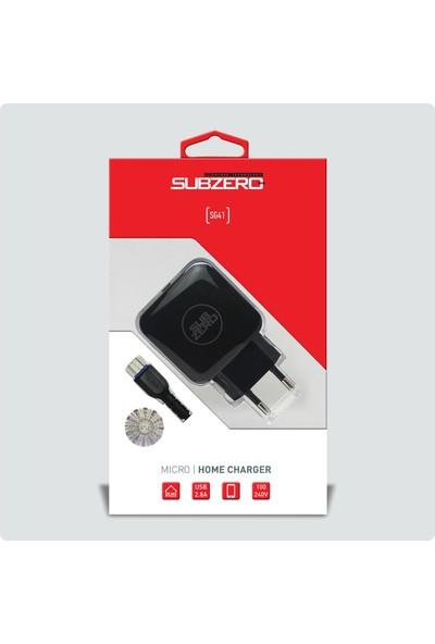 Subzero Micro USB Hızlı Şarj Aleti SG19/SG41 - Siyah
