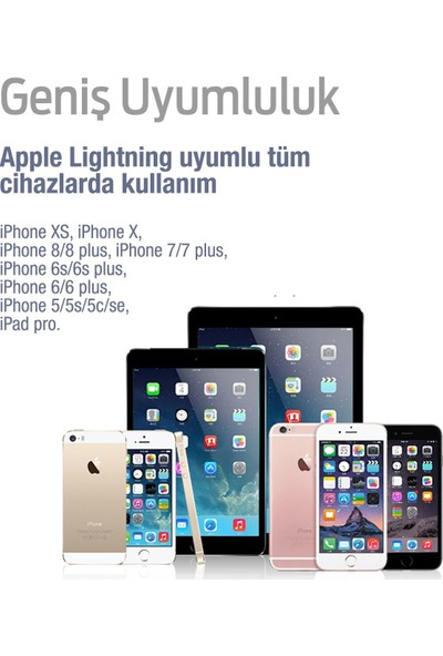 Subzero Apple iPhone Lightning Şarj Aleti