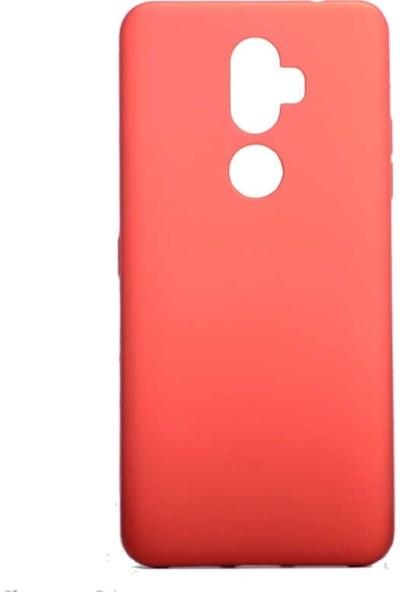 Teleplus Alcatel 3V Kılıf Lüks Silikon Kırmızı