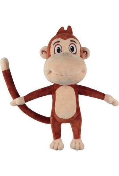 Selay Toys Kukili Maymun Peluş Oyuncak