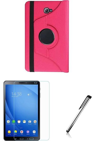 "Esepetim Samsung Galaxy Tab 4 T230 Pembe Dönerli Tablet Kılıfı 7"" - Pembe"