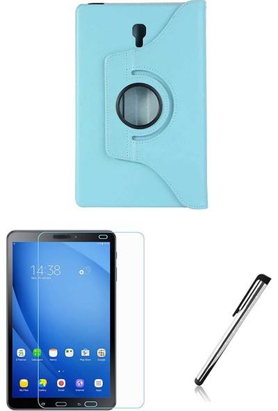 "Esepetim Samsung Galaxy Tab 4 T230 Turkuaz Dönerli Tablet Kılıfı 7"" - Turkuaz"