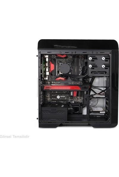 Everest Rampage Titan Plus 750W 80 Plus Bronze 2x12 Kırmızı LED Fan USB 3.0 Bilgisayar Kasası