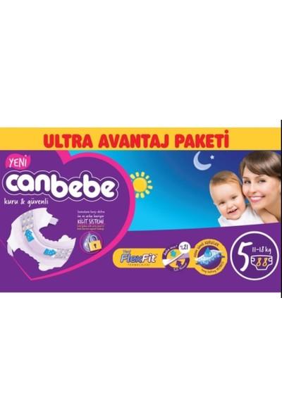 Canbebe Bebek Bezi 5 Beden 88 x 2 176' lı