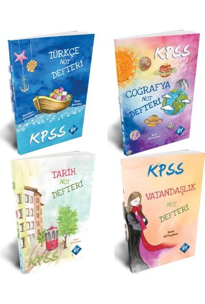 Kr Akademi Kpss 2020 Defter Seti (Tarih-Coğrafya-Vatandaşlık-Türkçe)