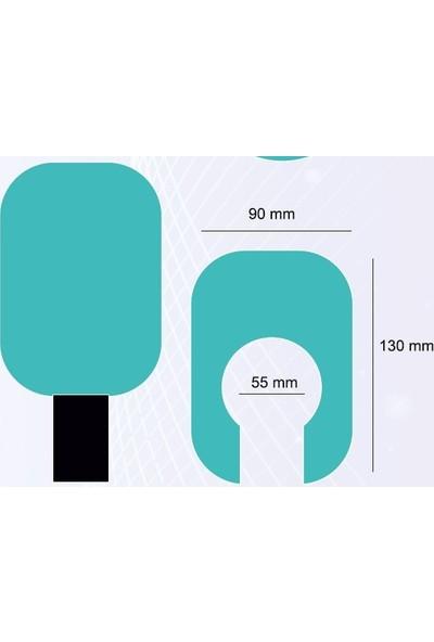 Kubbe Ajans Logo Baskılı Mikrofon Süngeri