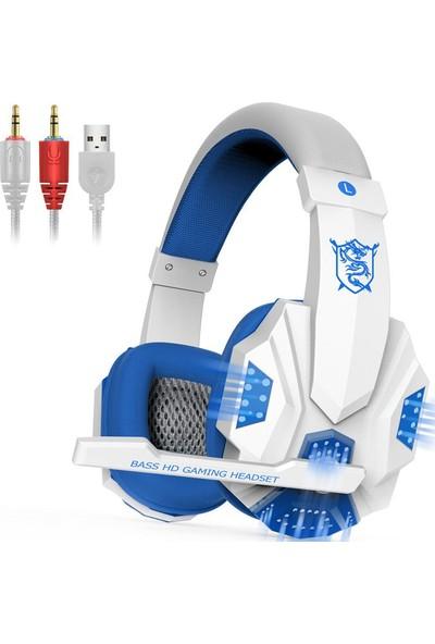 Ally Plextone PC780 Kablolu Oyuncu Kulaklık AL-25998 Beyaz
