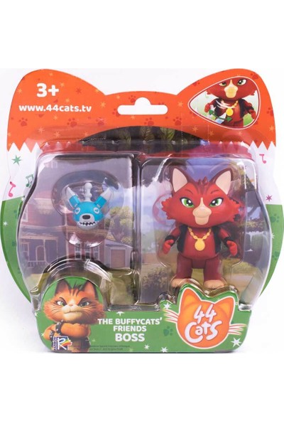 44 Cats Buffycats 44 Cats Aksesuarlı Tekli Figür Boss