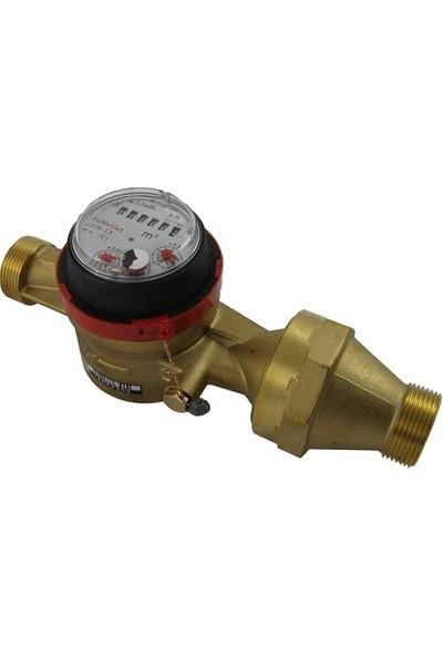Powogaz JS130-25 / DN25 Sıcak Su Sayacı 130°C Pulser Yok