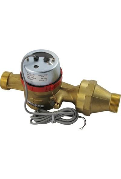 Powogaz JS130-25 / DN25 Pulserlı Sıcak Su Sayacı 130°C Reed Pulser