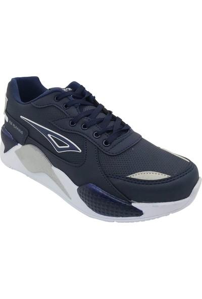 Pabucchi Erkek Lacivert Beyaz Spor Ayakkabı