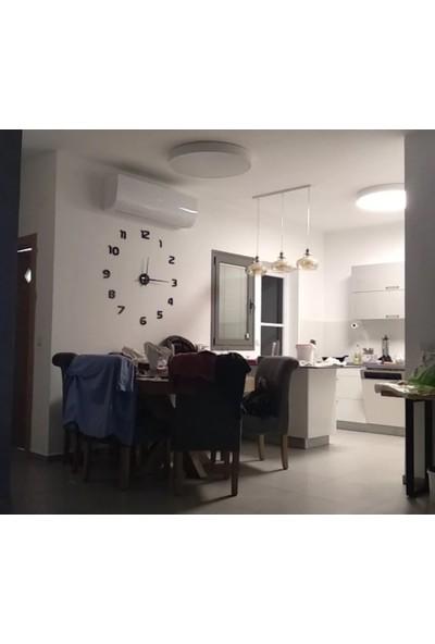 Dıy Clock Boyutu 50-150 cm Arası Ayarlanabilen 3D Modern Duvar Saati