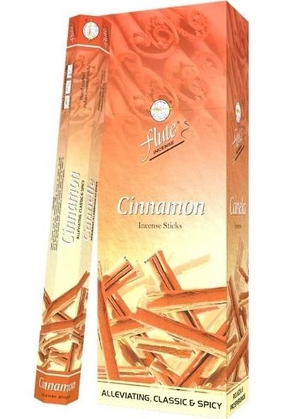 Flute Tütsü Tarçın (Cinnamon) 6X20 120 Sticks Incense
