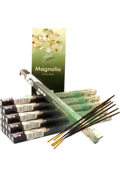 Flute Tütsü Manolya (Mangnolia) 6X20 120 Sticks Incense