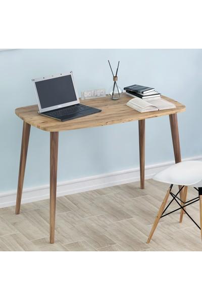 Bofigo 60X105 cm Çalışma Masası Bilgisayar Masası Ofis Ders Yemek Masası Çam