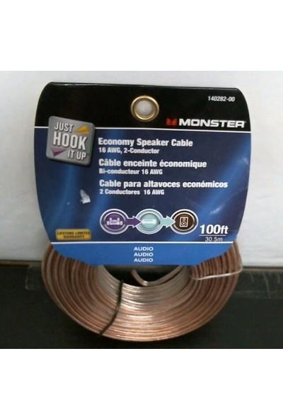 Monster Cable Ekonomik Hoparlör Kablosu 30 M