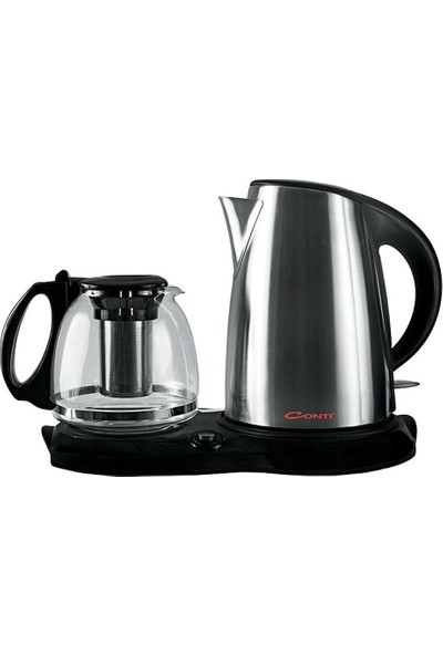 Conti CK-210 Easy Tea 2200 W Cam Demlikli Çay Makinesi