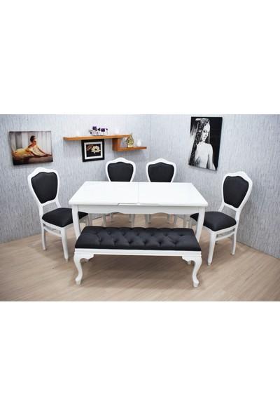 Corner Life Klasik Sandalyeli Mutfak Masa Takımı