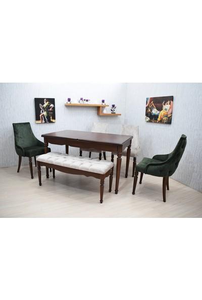 Corner Life Stil Sandalye Mutfak Masa Takımı