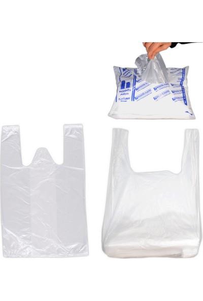 Hoşgör Plastik Hışır Atlet Market Manav Poşeti Küçük Boy Koli:7500'lü