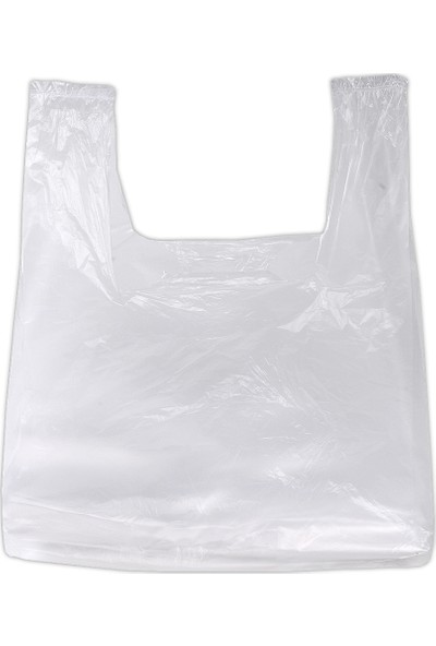 Hoşgör Plastik Hışır Atlet Market Manav Poşeti Kiloluk Küçük Boy 5 Paket:5 Kg