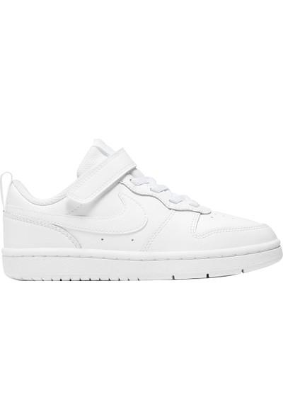 Nike BQ5451-100 Court Borough Low 2 Küçük Çocuk Ayakkabı 30