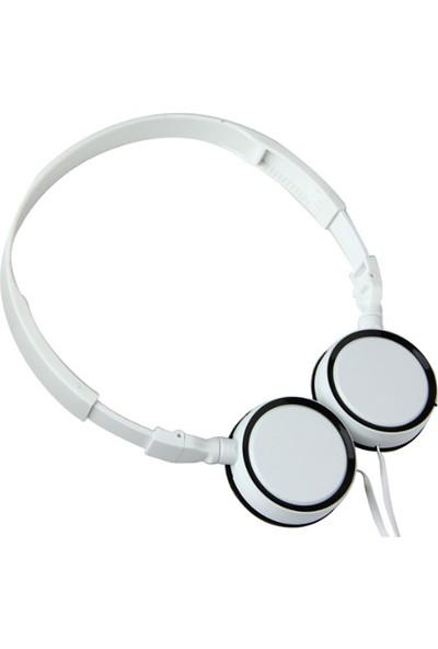 Ally Bbgear KD-310 Universal 3.5mm Jack Mikrofonlu Kulaklık AL-26001 Beyaz