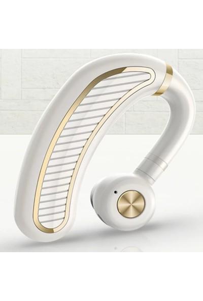 Judas V34 Bluetooth Ergonomik Kulaklık - Beyaz