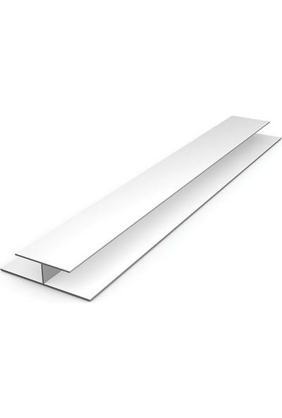 Uslu H Birleştirme Profili Plastik 3 - 6 - 9 mm Arkalık Çıtası Birleştirici 3 M