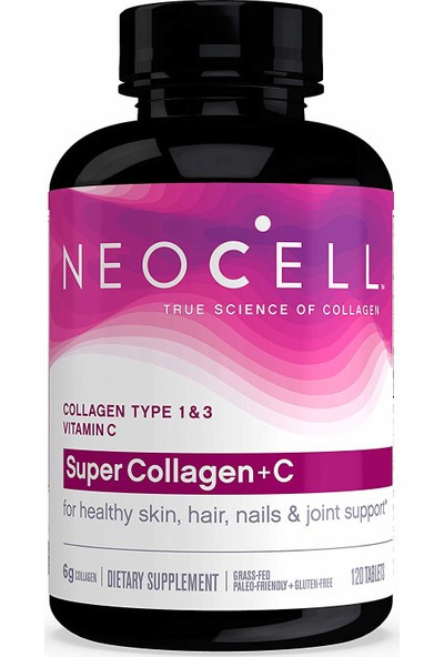 Super Collagen - Kırışıklıklar Için Saç ve Bağ Dokusu Güçlendirme
