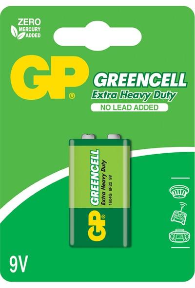 Gp 1604G-B Pil 9V Greencell Blısterli Gp 1604G-B