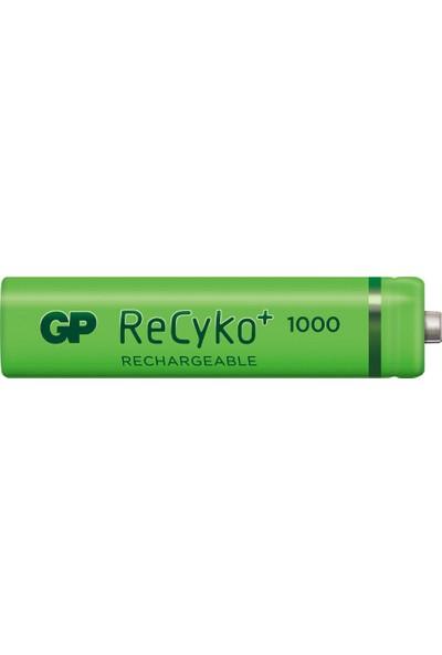 GP 6'lı (4+2) ReCyko 1000 Serisi NiMH AAA İnce Kalem Boy Şarjlı Pil(GP
