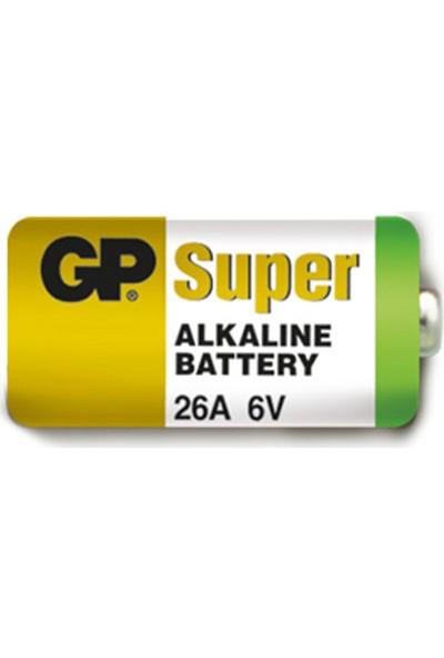 GP 5'li 26A 6V Yüksek Voltaj Spesifik Pil (GP26A-2C5)
