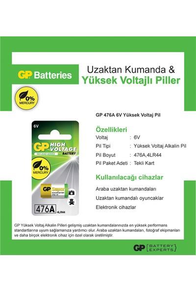 GP Tek'li 476A 6V Yüksek Voltaj Spesifik Pil (GP476A)
