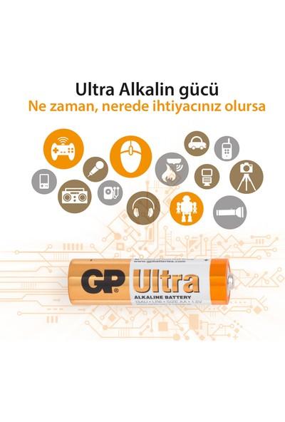 Gp 15Au Alkaline Lr6 Kalem 12Li Blister Pil